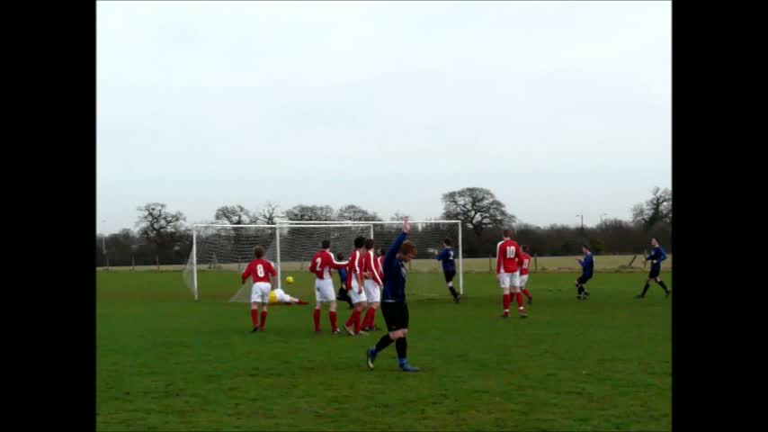Free kick cracker