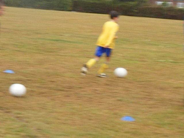 Under 11's Pre-season training