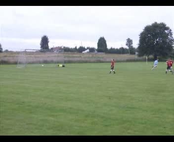 Ben scores v Garnkirk Aug 2011