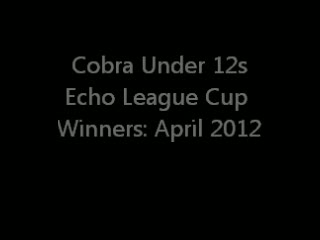 Echo League Cup Winners April 2012