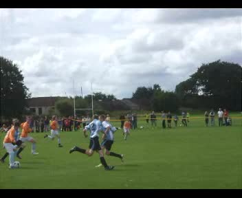 Lewis scores v Milngavie at LYC Festival 2012