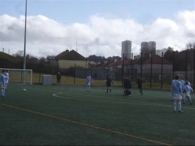 Ben scores v West Park in the Knockout Cup