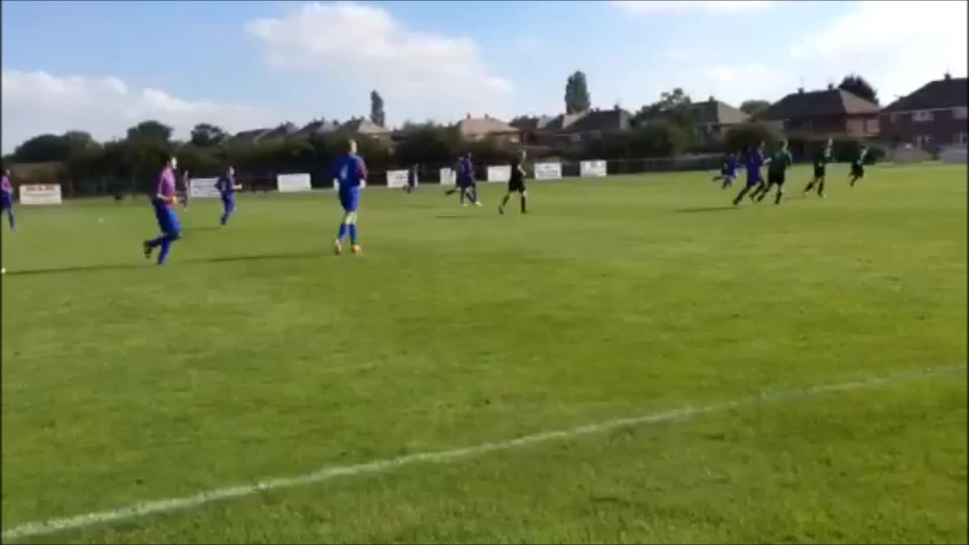 FCBrimington vs Hollingwood  29/9/13 josh thomas 1st Goal