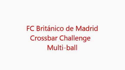 Crossbar Challenge Multi-Ball!