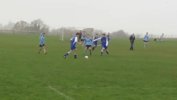 Under 14's v Woodside Rovers